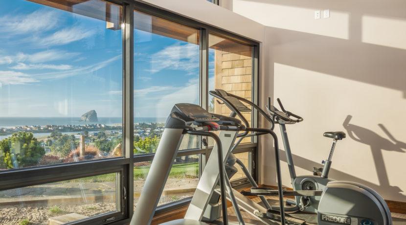 PSW fitness room