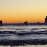 pacific city surfing